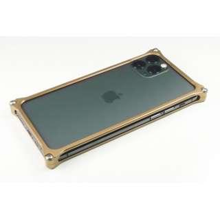 GILD DESIGN ソリッドバンパー for iPhone11ProMax シグネイチャーゴールド