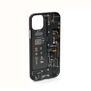 PCB Black for iPhone11 ケース エアリア ブラック MS-11BO-BK