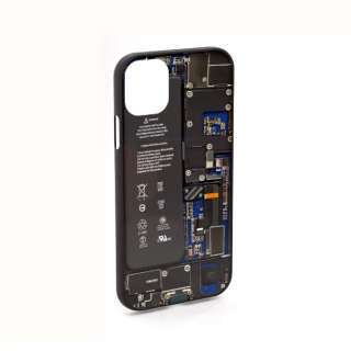 PCB Blue for iPhone11 ケース エアリア ブルー MS-11BO-BL