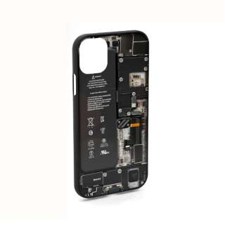 PCB White for iPhone11 ケース エアリア ホワイト MS-11BO-WH