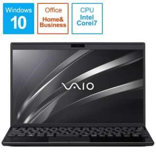 ノートパソコン VAIOSX12 ブラック VJS12290111B [12.5型 /intel Core i7 /SSD:256GB /メモリ:8GB /2020年1月モデル]