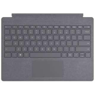 【純正】 Surface Pro Signature タイプカバー プラチナ FFP-00159