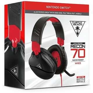 RECON 70N マルチプラットフォーム対応ゲーミングヘッドセット TBS-8010-01 【PS4/Switch/Xbox One】