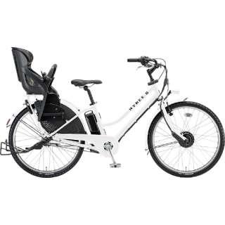 電動アシスト自転車 HYDEE.IIハイディーツー E.Xホワイト HY6B40 [3段変速 /26インチ] 【組立商品につき返品不可】