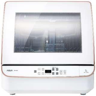 ADW-GM2-W 食器洗い機(送風乾燥機能付き) ホワイト [3人用]
