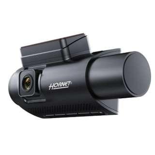 HSDR300-701 前方+車内対応 セキュリティデュアルカメラドライブレコーダー HORNET [一体型 /Full HD(200万画素) /駐車監視機能付き]