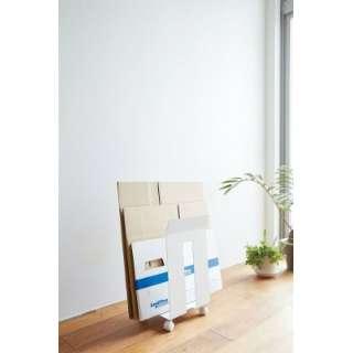 ダンボール&紙袋ストッカー フレーム ホワイト(Corrugated Cardboard Box&Paper Bag Stocker Frame WH) ホワイト 03301