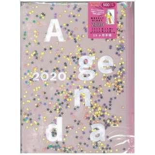 2020年手帳ホロカバー ピンク