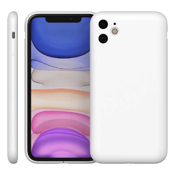 MYNUS iPhone 11 CASEマットホワイト