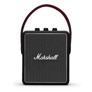 STOCKWELL II BLACK ブルートゥーススピーカー ブラック [Bluetooth対応 /防滴]