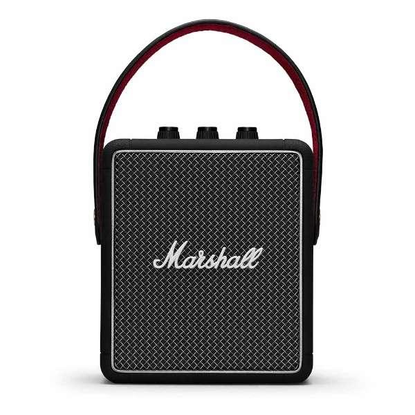 STOCKWELLIIBLACK ブルートゥーススピーカー ブラック [Bluetooth対応 /防滴]