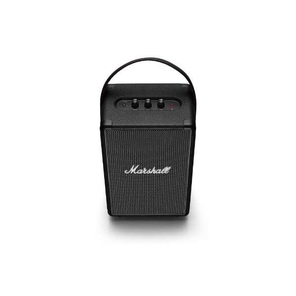TUFTONBLACK ブルートゥーススピーカー ブラック [Bluetooth対応 /防滴]