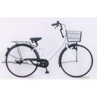 26型 自転車 ダカラットベース(パルホワイト/シングルシフト) FV_B260BA_LBD_B【2020年モデル】 【組立商品につき返品不可】