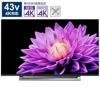 43M540X 液晶テレビ REGZA(レグザ) [43V型 /4K対応 /YouTube対応]