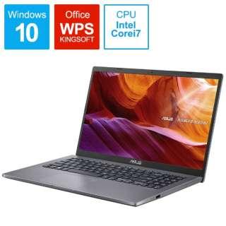 X545FA-BQ075T ノートパソコン スレートグレー [15.6型 /intel Core i7 /SSD:512GB /メモリ:8GB /2020年2月モデル]