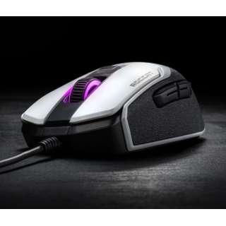 ROC-11-610-WE ゲーミングマウス Kain 102 AIMO ホワイト [光学式 /8ボタン /USB /有線]