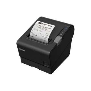 レシートプリンター(パラレル/USB/有線/無線LAN※オプション) TM-T88VI ブラック