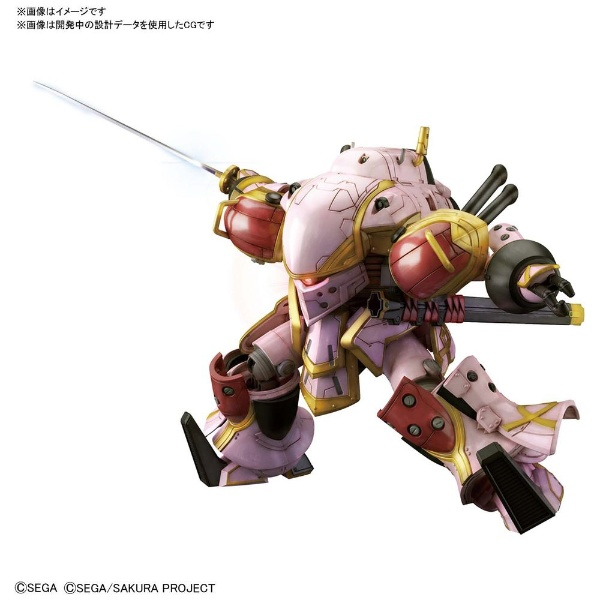 HG 1/24 新サクラ大戦 霊子戦闘機・無限(天宮さくら機)