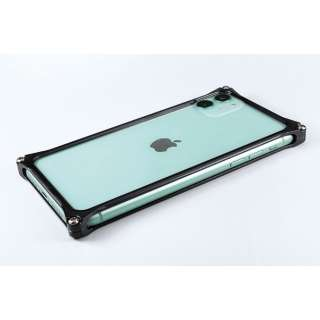 GILD DESIGN ソリッドバンパー for iPhone11 ブラック