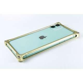 GILD DESIGN ソリッドバンパー for iPhone11 シャンパンゴールド