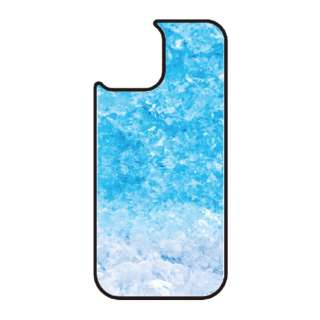 iPhone11 VESTI 着せ替え用背面カバー(ガラスハイブリッド) C.フローズンブルー VESTI