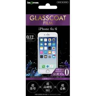 iPhone 6s/6/保護フィルム9H ガラスコート反射防止 IN-P6FT/U12