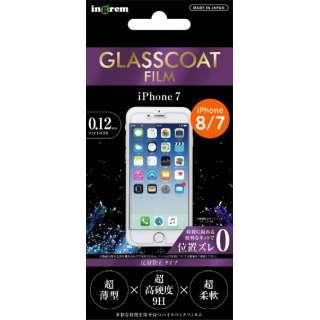 iPhone SE(第2世代)4.7インチ/ iPhone 7/保護フィルム/9H ガラスコート反射防止 IN-P7FT/U12