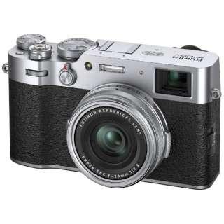 X100V コンパクトデジタルカメラ シルバー