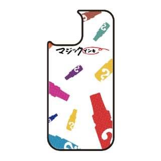 iPhone11 VESTI 着せ替え用背面カバー(ガラスハイブリッド) マジックインキ  D.カラフルマジック VESTI vegp7412-d-ip11