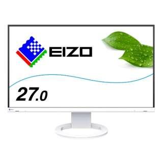 EV2760-WT PCモニター FlexScan ホワイト [27型 /ワイド /WQHD(2560×1440)]