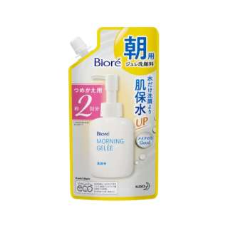 Biore(ビオレ) 朝用ジュレ洗顔料 つめかえ用2回分(160ml) 〔洗顔料〕