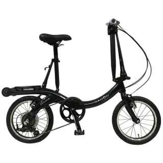 16型 折りたたみ自転車 NuWave16 ニューウェーブ16(スペースブラック/外装6段変速) 【2020年モデル】 【組立商品につき返品不可】