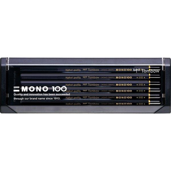 鉛筆モノ100 9H MONO-1009H