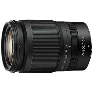 カメラレンズ NIKKOR Z 24-200mm f/4-6.3 VR【ニコンZマウント】 [ニコンZ /ズームレンズ]