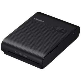 QX10(BK) コンパクトフォトプリンター SELPHY SQUARE QX10(セルフィー スクエア) ブラック [スマートフォン専用]