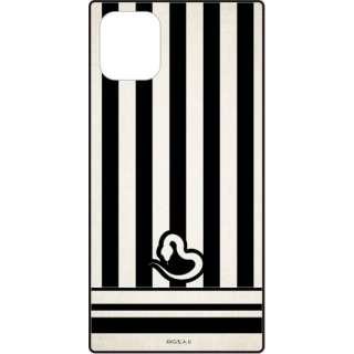 スクエアガラスケース for iPhone11/XR 鬼滅の刃 伊黒 小芭内 KMY-08M