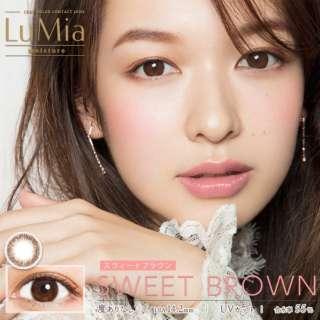 ルミア モイスチャー スウィートブラウン14.2mm(10枚入)[LuMia/ワンデー/1日使い捨てコンタクトレンズ/カラコン] [5%ポイントサービス]