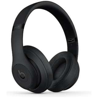 ブルートゥースヘッドホン STUDIO3 Wireless マットブラック MX3X2PA/A [リモコン・マイク対応 /Bluetooth /ノイズキャンセリング対応]
