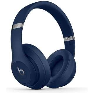 ブルートゥースヘッドホン STUDIO3 Wireless ブルー MX402PA/A [リモコン・マイク対応 /Bluetooth /ノイズキャンセリング対応]