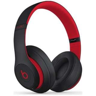 ブルートゥースヘッドホン Studio3 レジスタンス・ブラックレッド MX422PA/A [リモコン・マイク対応 /Bluetooth]