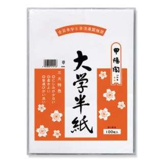 大学半紙 100枚ポリ入 タ-914