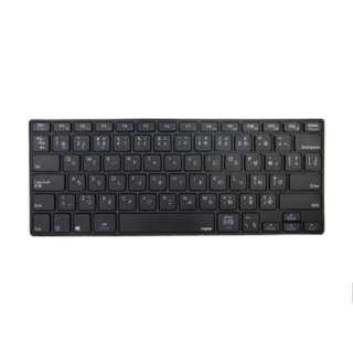 E6080BK キーボード Rapoo E6080 ブラック [Bluetooth /ワイヤレス]