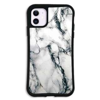 iPhone11 WAYLLY-MK セット ドレッサー 大理石 ホワイト mkdrs-set-11-wht