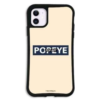 iPhone11 WAYLLY-MK × ポパイ 【セット】 ドレッサー ロゴ mkppy-set-11-lg