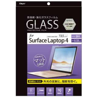 Surface Laptop 3(13.5インチ)用 液晶保護ガラスフィルム 反射防止 TBF-SFL191GG [Surface Laptop 3(13.5インチ)]