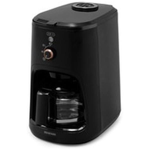 アイリスオーヤマ クーポン対象商品 コーヒーメーカー おしゃれ ミル付き 全自動 全自動コーヒーメーカー BLIAC-A600-B ブラック(514662) アイリスオーヤマ () クーポンコード:DE2ZG4W
