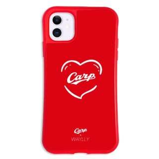 iPhone11 WAYLLY-MK × 広島カープ セット ドレッサー ハート mkcarp-set-11-hrt
