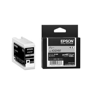 ICGY97 純正プリンターインク Epson Proseleciton グレー