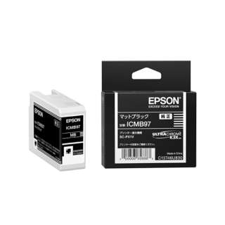 ICMB97 純正プリンターインク Epson Proseleciton マットブラック