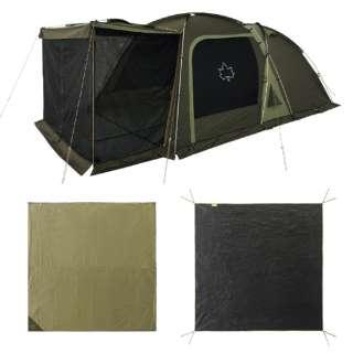 テントセット テントチャレンジセットneos 3ルームドゥーブル XL-BJ 71809559